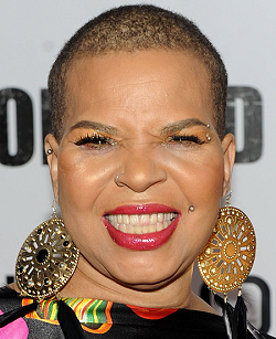 Celebrated author Ntozake Shange photo by Stephen Lovekin and Getty