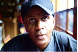 Ethiopian journalist and political dissident Eskinder Nega.