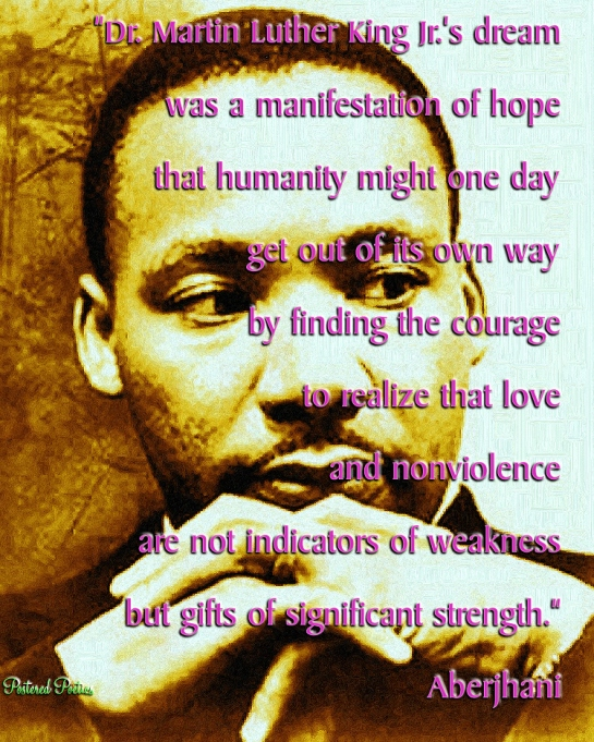 MLK DREAM Manifestation of Hope Quotation by Aberjhani 750