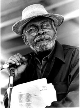 The Great Author Amiri Baraka (photo by Lynda Koolish)