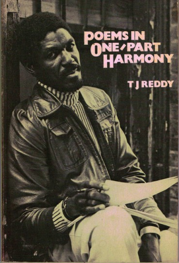 Cover of poet-artist T.J. Reddy's classic antiracism volume