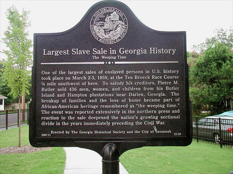 Georgia Historical Society marker citing