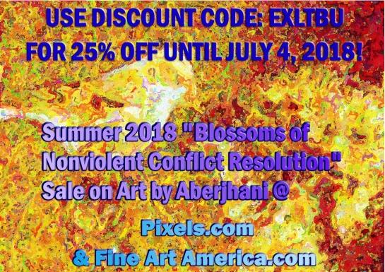 Discount Code EXLTBU artsale2018 25 percent off